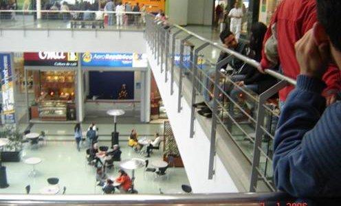 Barandas acero inoxidable centro comercial portal 80